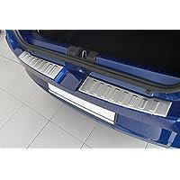 tuning-art BL1016 Achterbumperprotector met afschuining voor Dacia Sandero 3 / Stepway 3, Kleur:Zilver