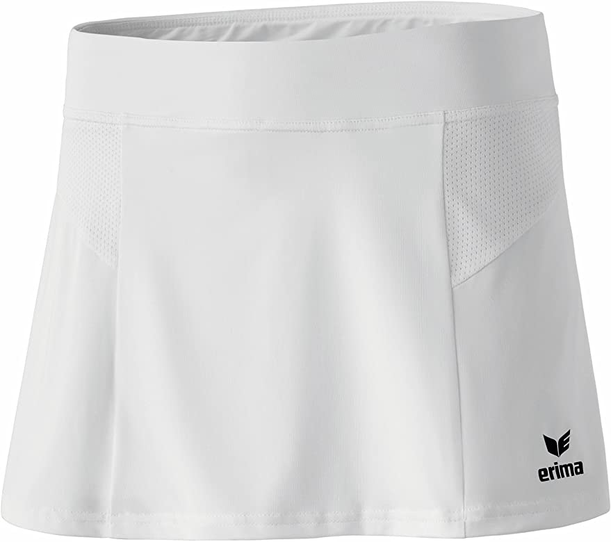 erima Performance Falda de Tenis, Mujer, Blanco, 34: Amazon.es ...