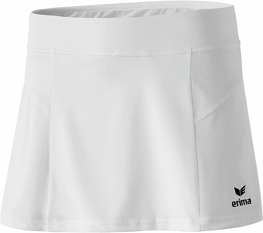 erima Performance Falda de Tenis, Mujer, Blanco, 34: Amazon.es ...