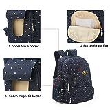 S-ZONE Diaper Bag Backpack, Large Capacity Baby