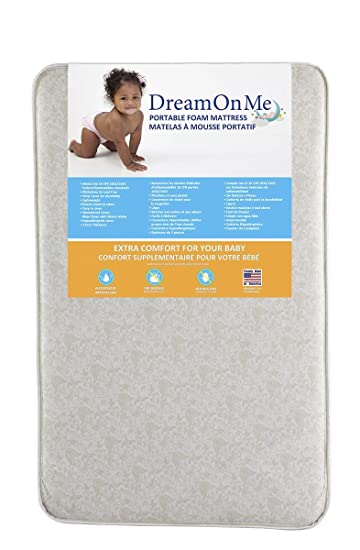 Amazon.com : Dream On Me Foam Pack and Play Mattress : Crib ...