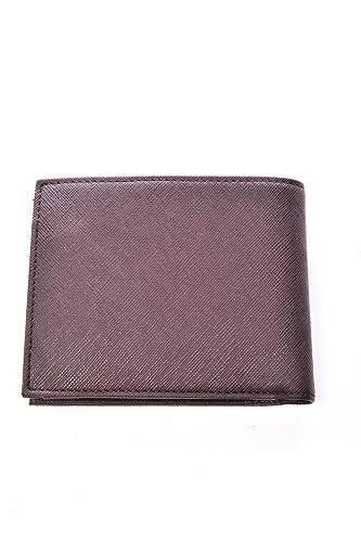 Armani Jeans monedero cartera bifold de hombre nuevo marrón ...