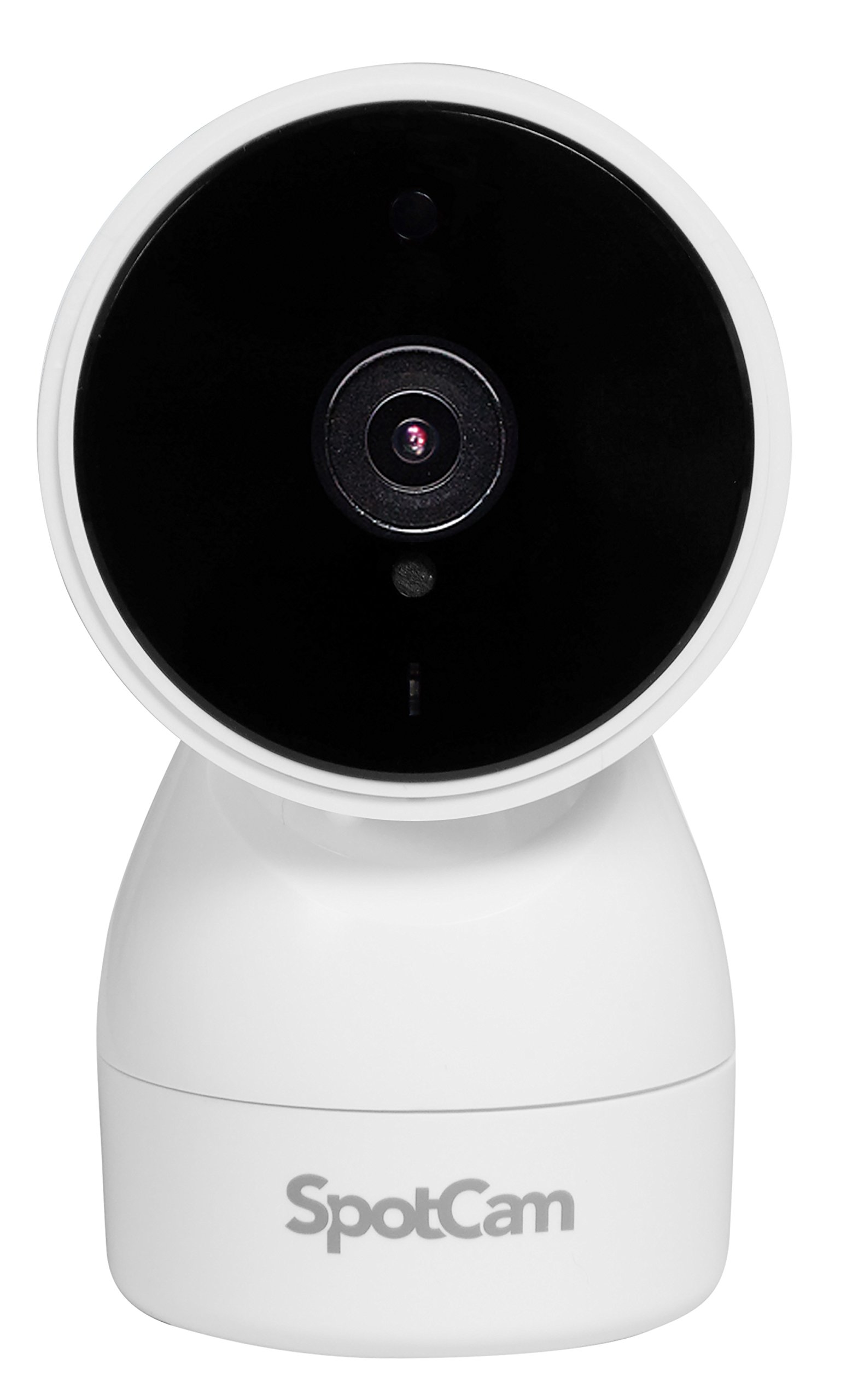 Aposonic SpotCam HD Eva 720P WiFi Home Security Cloud PTZ Camera with Free 24-Hour Cloud Continuous Recording (White)