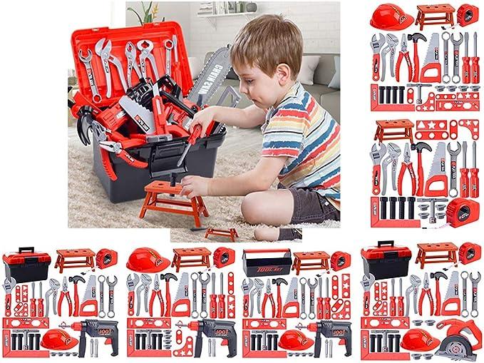 31pcs -Bo/îte /À Outil /Établis Atelier Bricolage Enfant Caisse /à Outils Sharplace Jeu Dimitation /Électrique