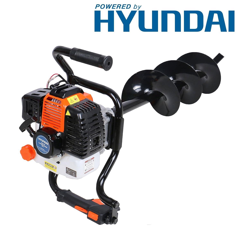 P1PE P5200EA Petrol Earth Auger/ Fence Post Hole Borer / Drill Hyundai Powered