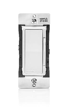 Leviton DD00R-DLZ 120VAC 60 Hz Decora Digital/Decora Smart Matching Dimmer  Remote