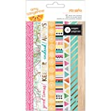 American Crafts Amy Tangerine Rise and Shine Washi Tape Notepad