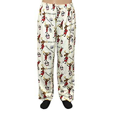 dd1b91e21 Just One Women s Pajama Lounge Pants Cozy Color Print Loose Fit PJ Bottoms  (Reg and Plus Size) at Amazon Women s Clothing store