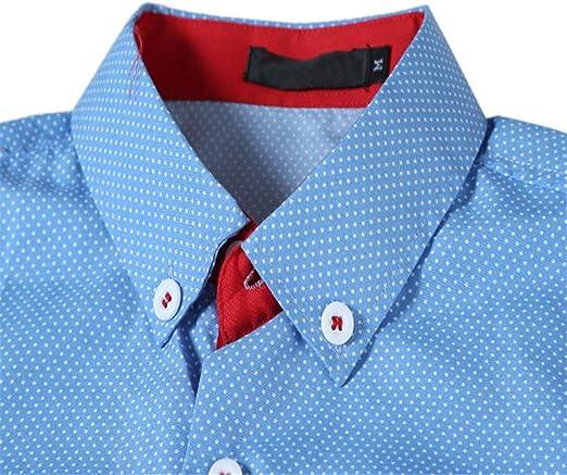 DuangDuang Spring - Camisa de manga larga para hombre, diseño ...