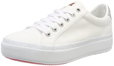 Napapijri Footwear Astrid, Baskets Femme, Blanc (Bright White), 41 EU