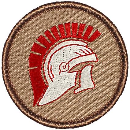1559f0e642d Amazon.com  Trojan Helmet Patrol Patch - 2