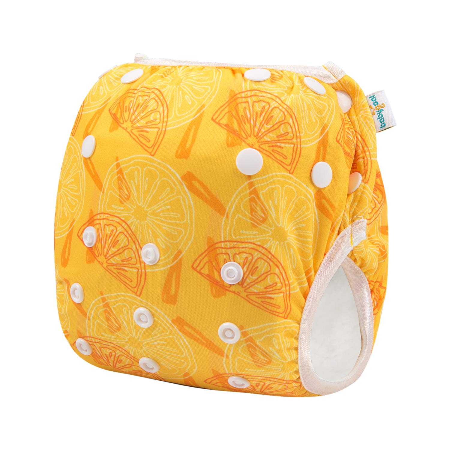 Washable and Adjustable for Babies 0-3 Years ZFSW26 babygoal Baby Reusable Swim Diaper