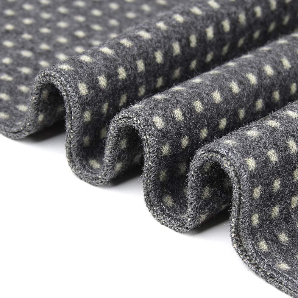 Preferhouse Mens Fashion Tartan Scarf Winter Warm Checkered Wraps