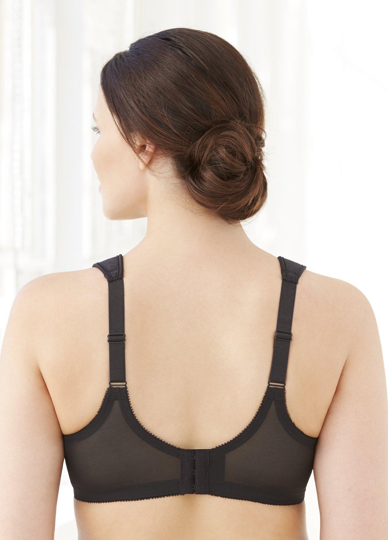 Glamorise Women's Plus-Size Full-Figure Sports Bra 1006, Pink, 34G by Glamorise (Image #3)