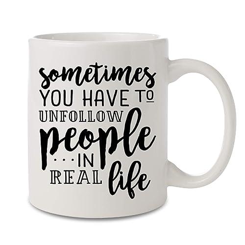 Amazon Com Sassy Quotes On Mug Black And White Coffee Mug