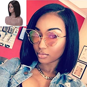 Amazon Com Choshim Blunt Cut Bob Wig Brazilian Virgin Human Hair