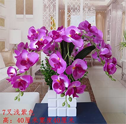 Amazon.com: SituMi Artificial Fake Flowers orchid home decor wedding ...