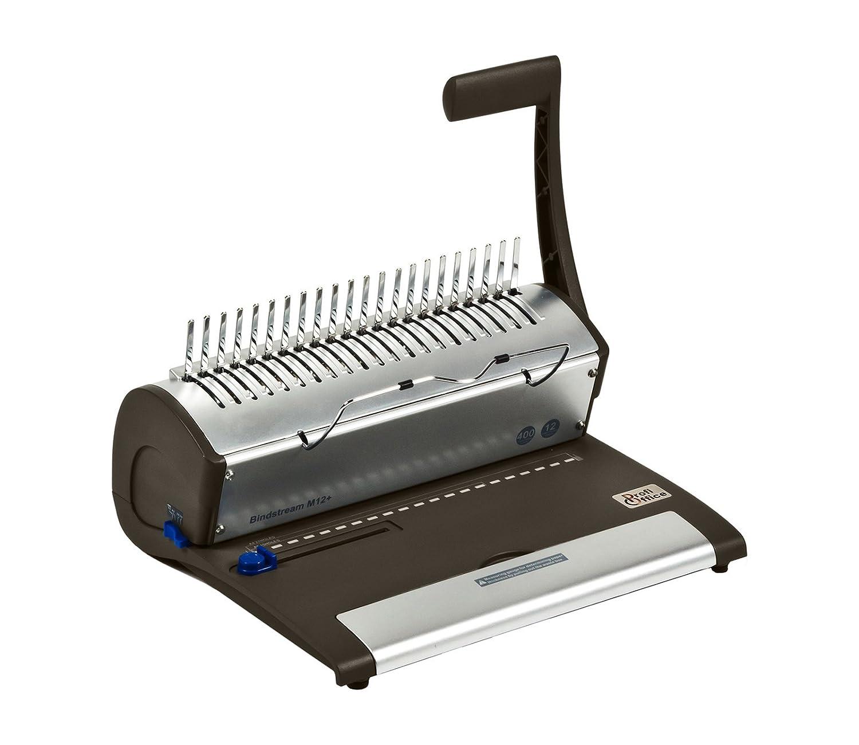 ProfiOffice® Bindstream M12 +, Bindegerät/Spiralbindegerät / Plastikbindegerät, DIN A4 (79018)
