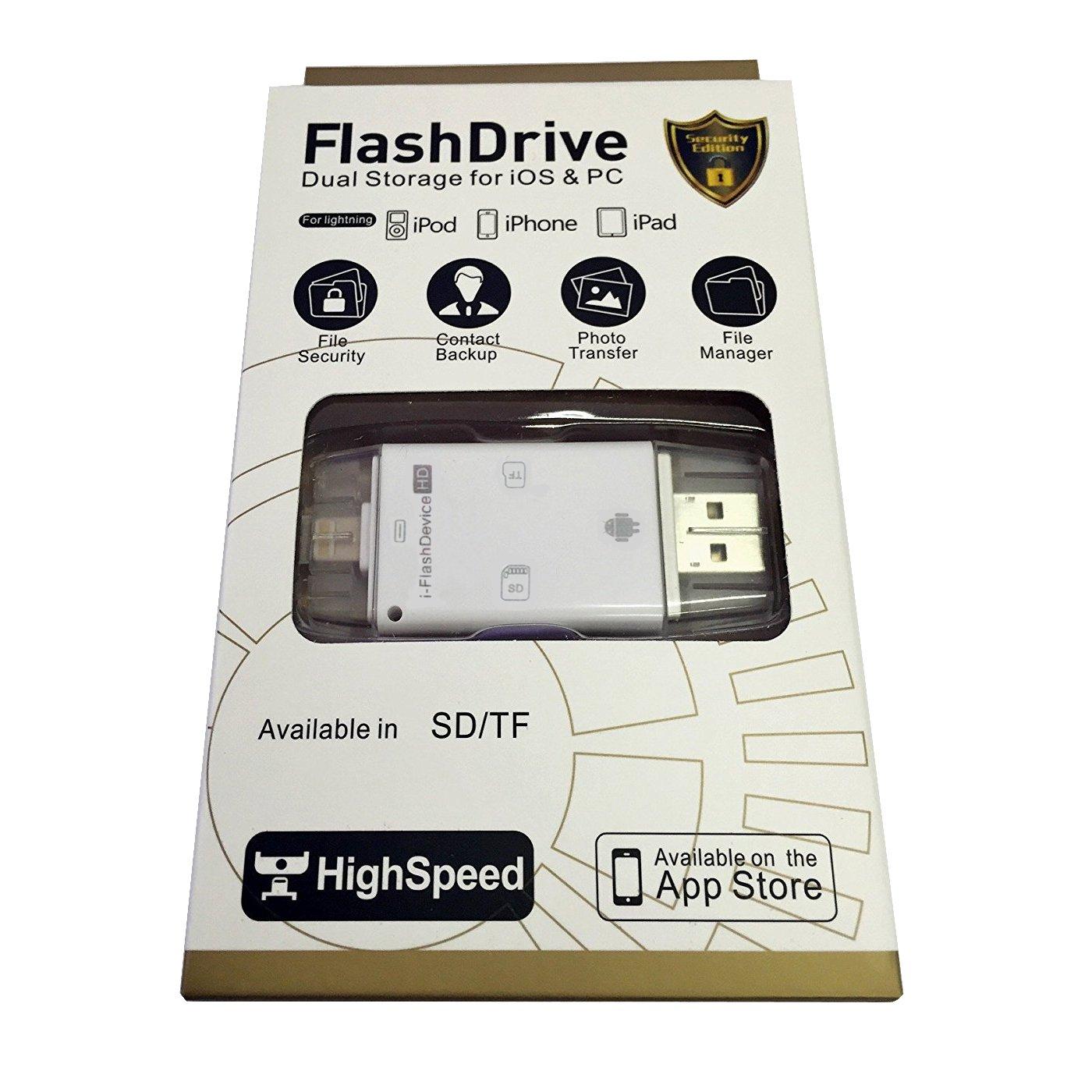 I-flash Drive dispositivo de lector de tarjetas de memoria ...