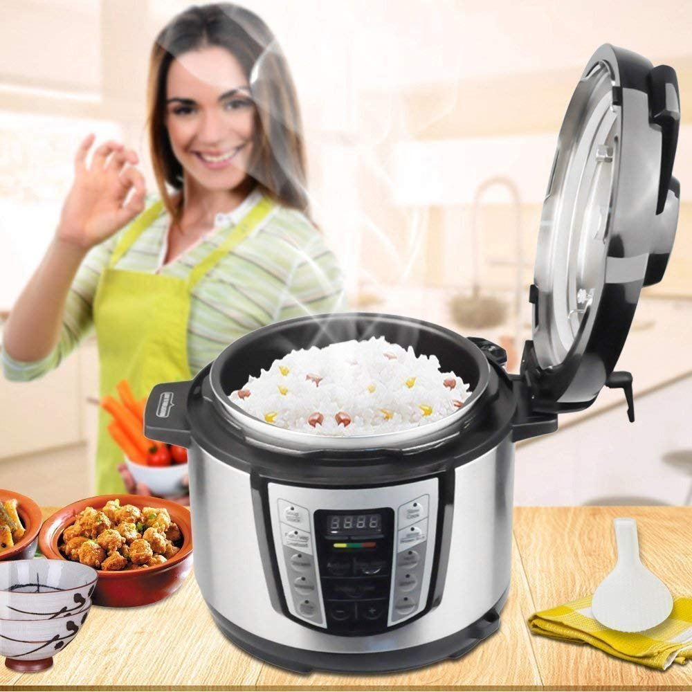 Greatic YA500 10-in-1 Multi-Use Programmable Electric Pressure Cooker by Greatic (Image #6)