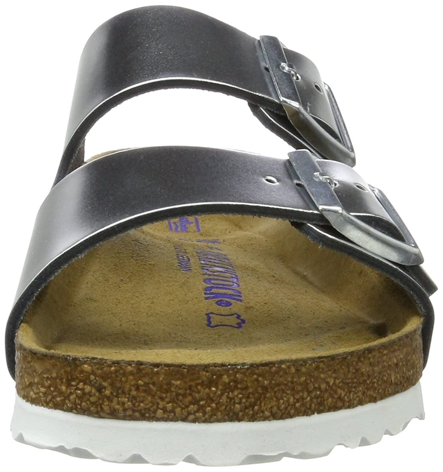silver arizona birkenstocks