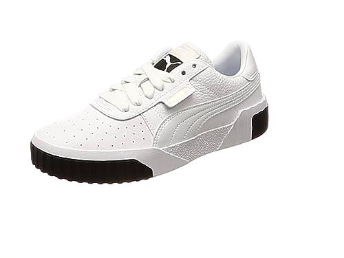 basket puma cali blanche femme