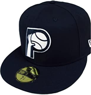 New Era Indiana Pacers HWC NBA Black White 59fifty Fitted Cap Limited  Edition 3fcc5dfb8e8