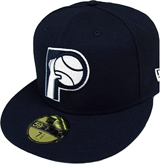 info for abe99 161c0 New Era Indiana Pacers HWC NBA Black White 59fifty Fitted Cap Limited  Edition  Amazon.co.uk  Clothing