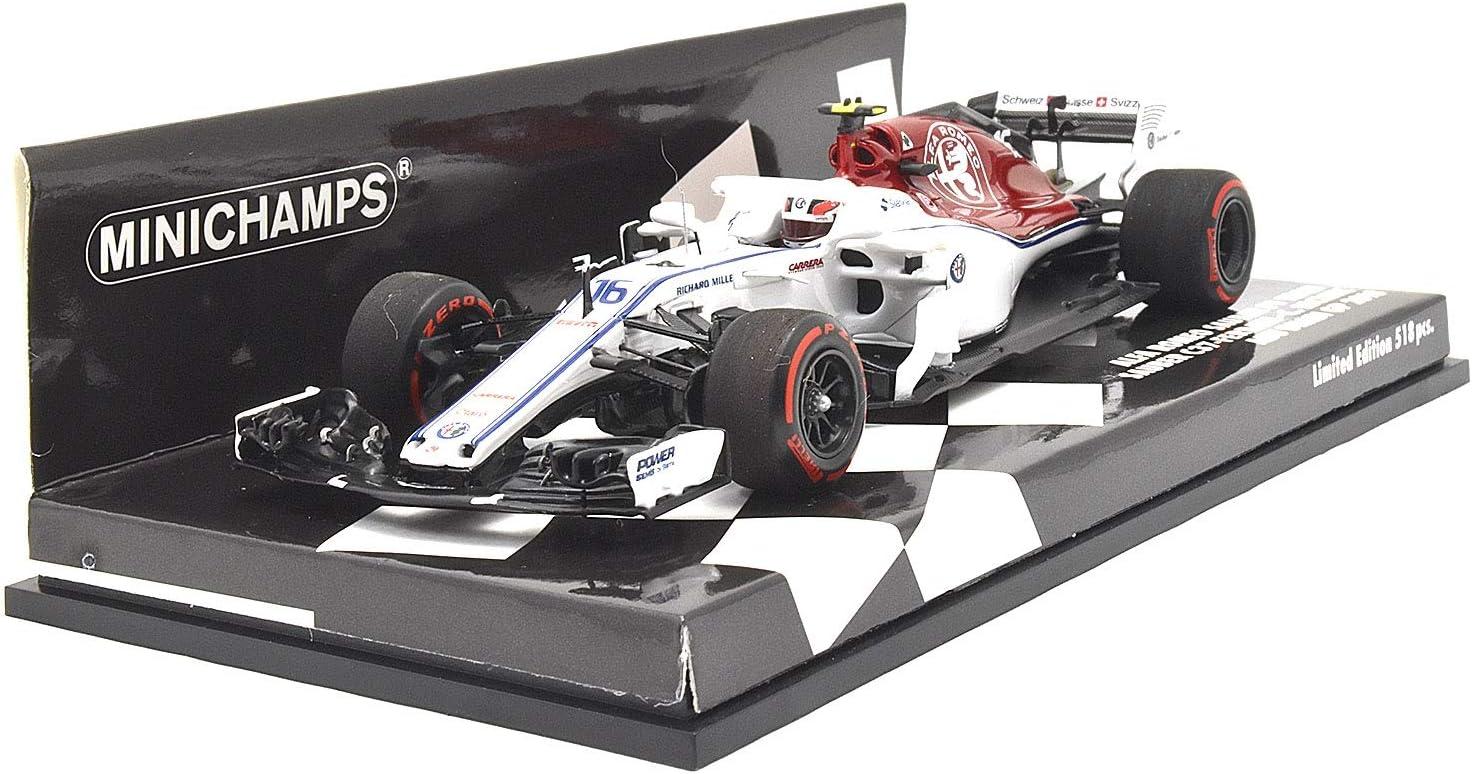 Sauber C37 Ferrari  Leclerc  Formel 1 Abu Dhabi 2018  1:43 Minichamps 417182116