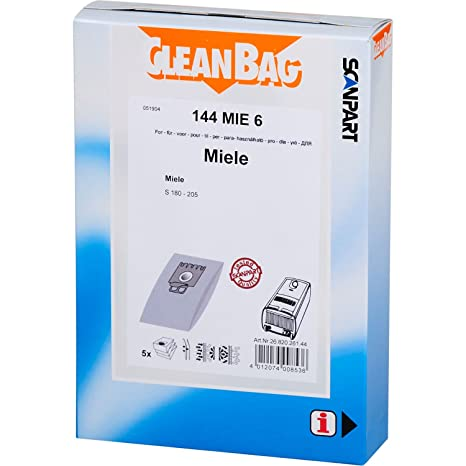 Amazon.com: CleanBag 144 Mie - Bolsas universales para ...