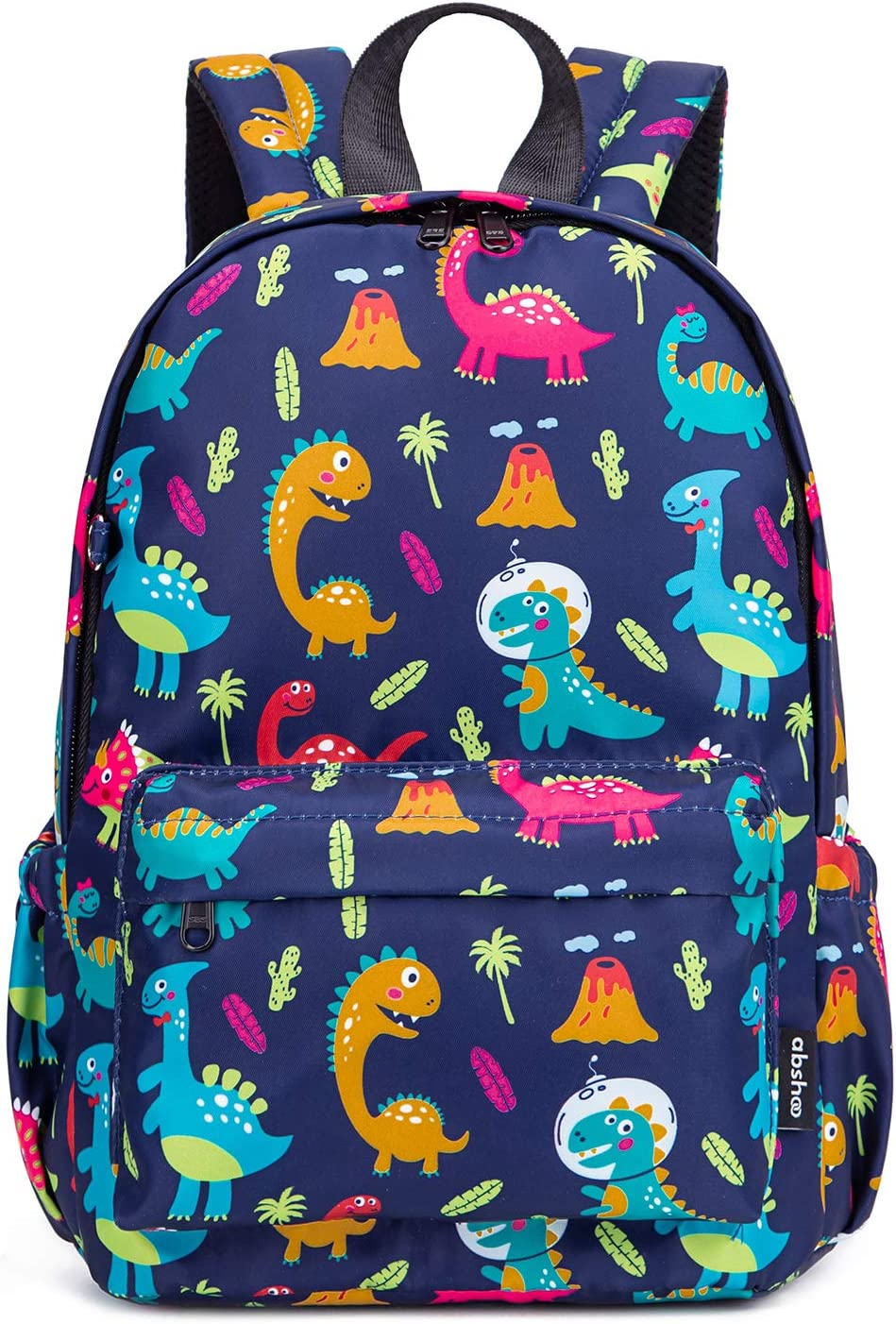Abshoo Little Kids Toddler Backpacks for Preschool Backpack With Chest Strap (Dinosaur Navy)
