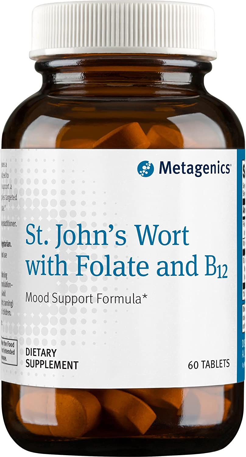 Metagenics – St. John s Wort with Folate and B12, 60 Count