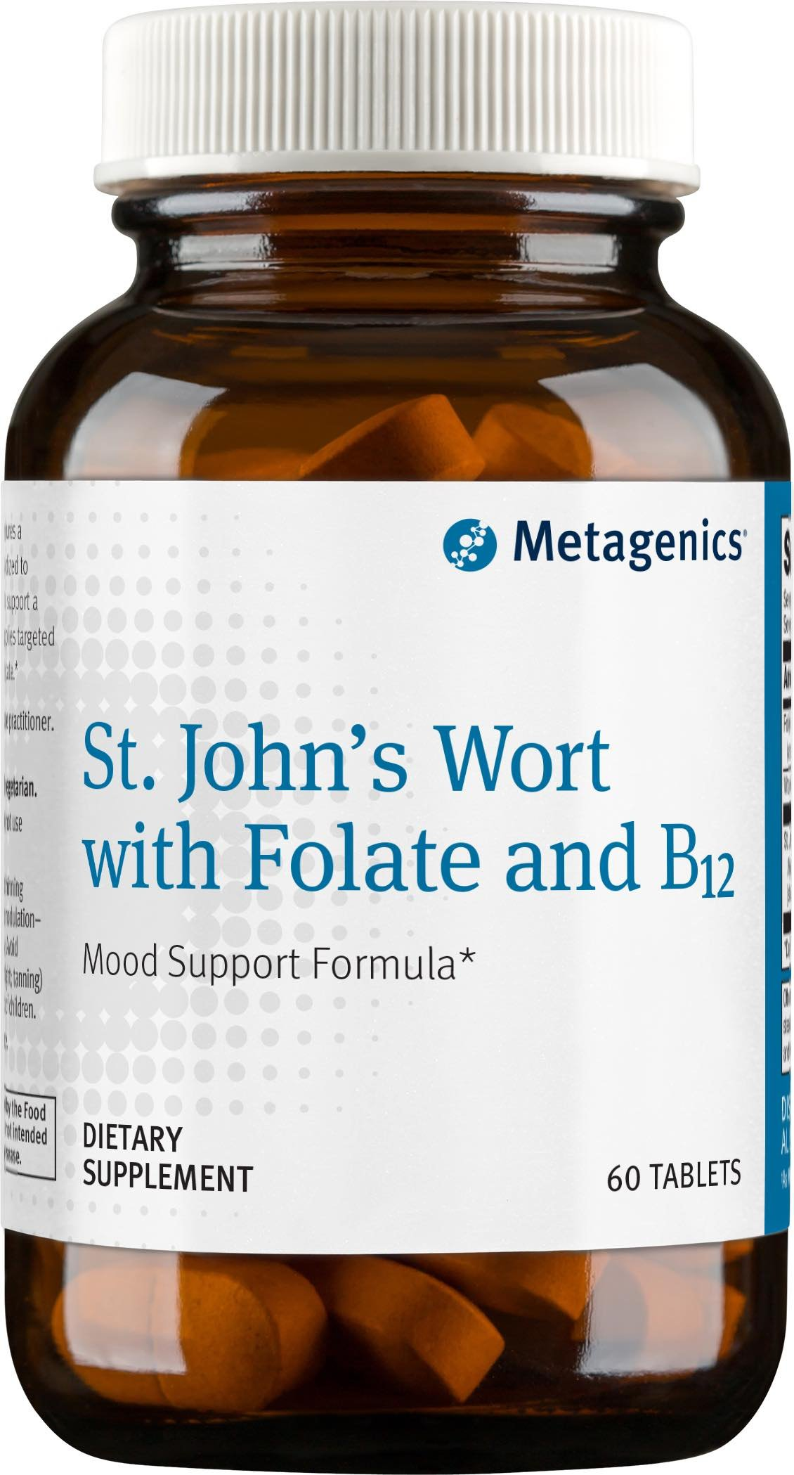 Metagenics St. John's Wort with Folate and B12 -- 60 Tablets