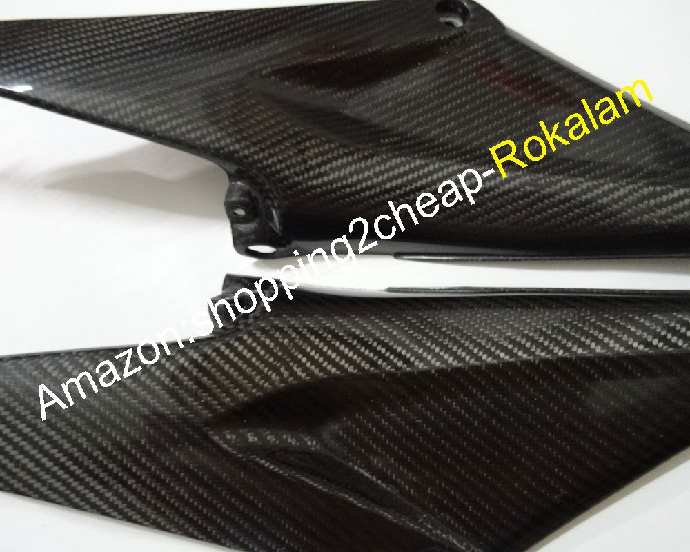 2 x Carbon Fiber Tank Side Covers Panels Fairing For CBR600RR F5 2005 2006 CBR 600RR 05 06 Tank Side Cover Panel