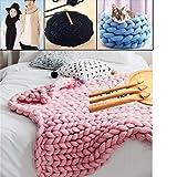25/20/15mm Handmade Beach Wood Crochet Hooks, Giant Yarn Hook for Kniiting Gift