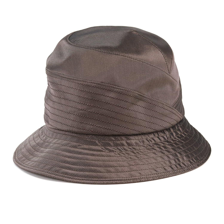 (リカエナ) Lycaena セーラーハット レディース ミセスハット 婦人帽子 切替 日本製 春夏 B079GMWFLW  ブラウン M(約57cm)