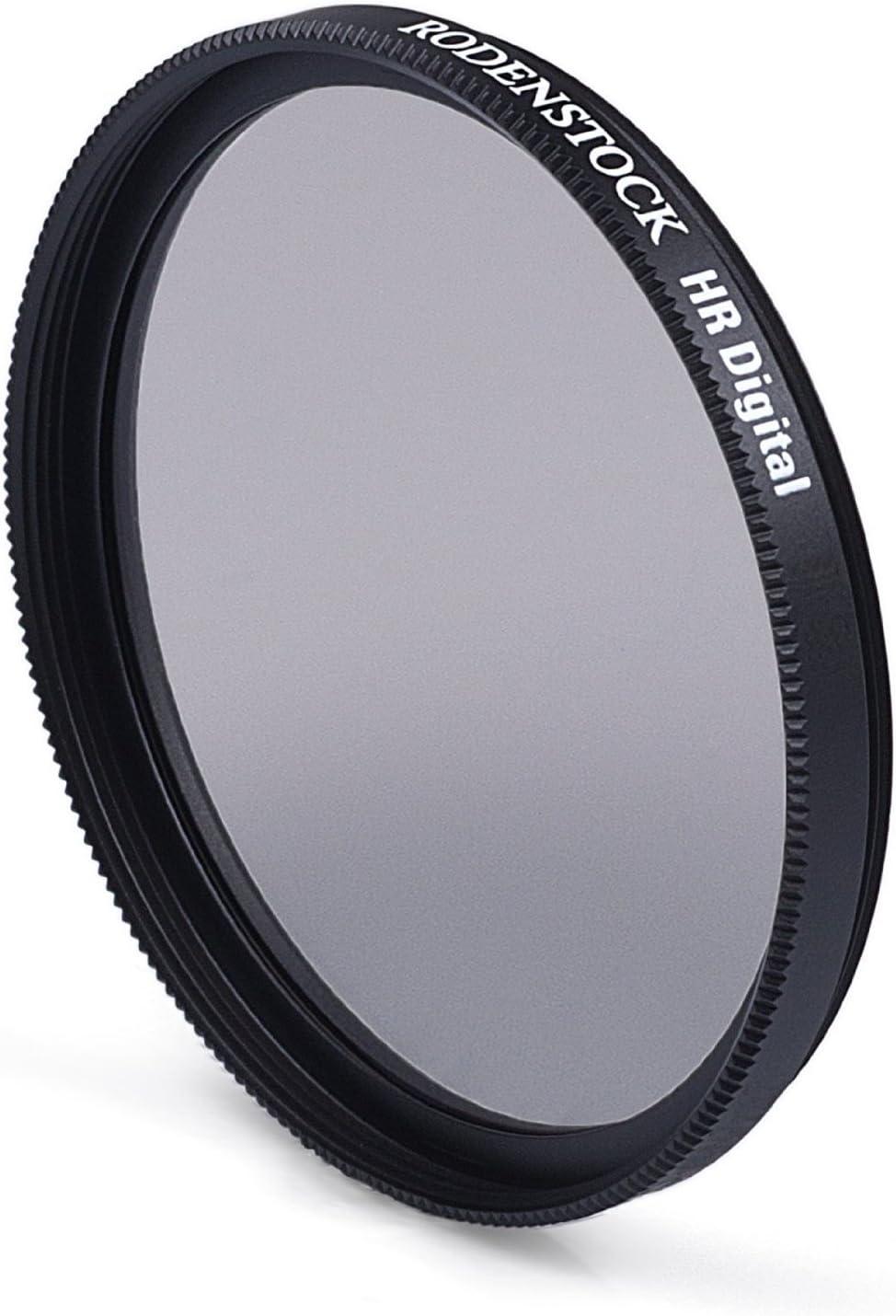 Black//Transparent Rodenstock 407740 77mm Slim Circular Polarizer Brass Mount Super Multi-coated Black Label Filter