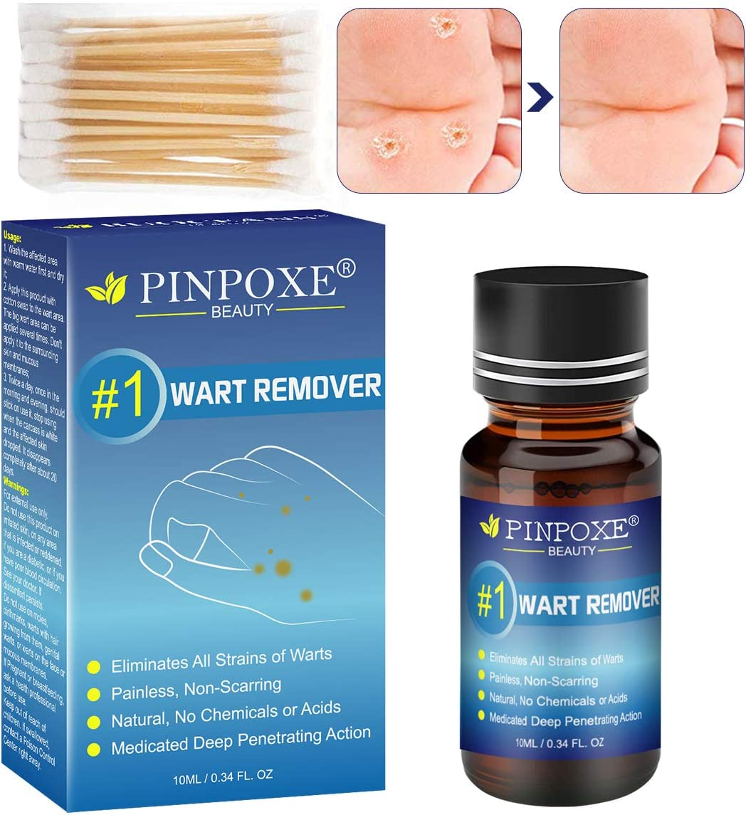 Amazon Com Wart Removal Corn Removal Painless Removal Of Plantar Common Warts And Infections Promotes The Healing Of Calluses And Corns 10ml Health Personal Care