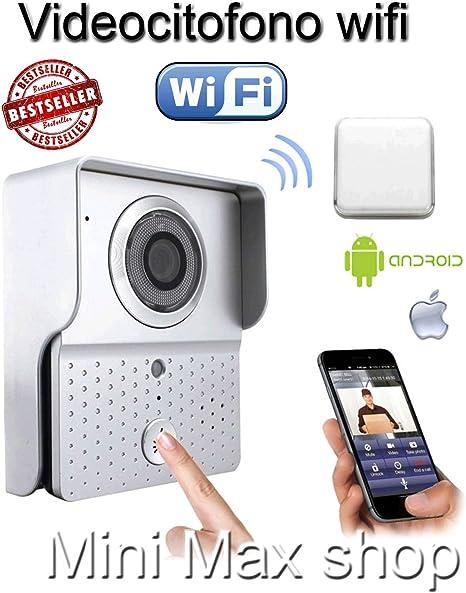 Visiophone de Maison connect/é sans Fil WiFi et IP