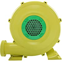 JAXRL 680W Inflatable Air Blower Pump Fan, Light Weight Air Blower for Indoor Outdoor Inflatable Bouncy House, Yellow