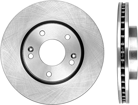 2011 Fits Hyundai Accent Rotors Metallic Pads F OE Replacement