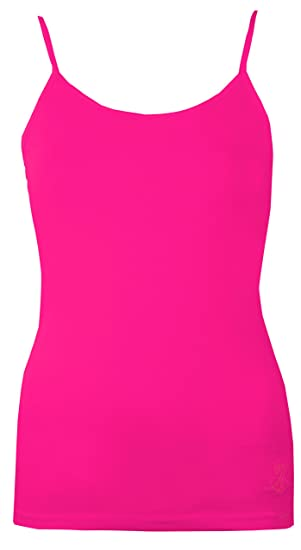 dc9082847aa6a Womens Vest Ladies Gym Vest Lined Bra Support Cami Tops by Brody   Co Yoga  Dance Wear Summer Beach Wear  Amazon.co.uk  Clothing