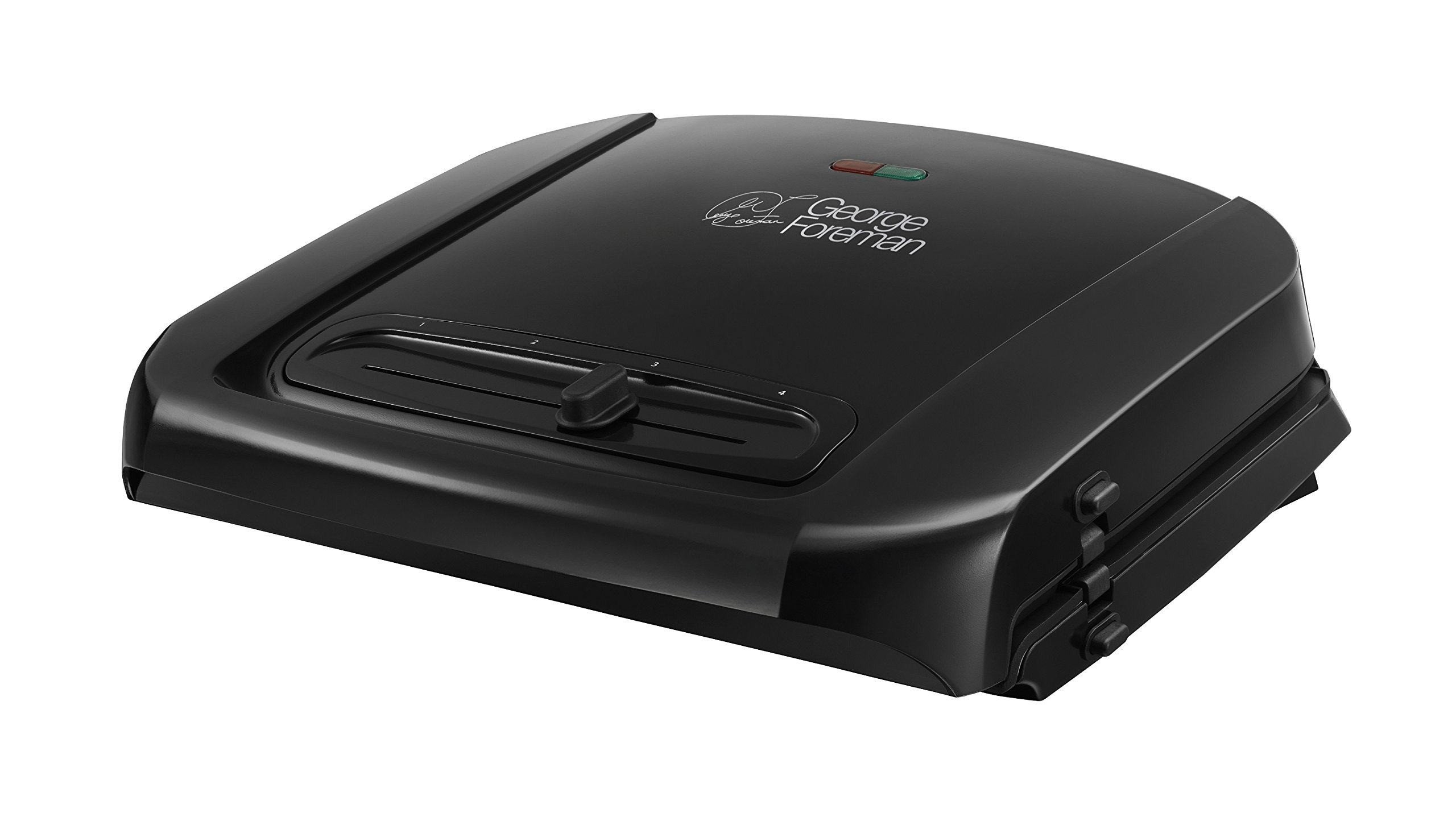 George foreman 20850 six portion entertaining grill with - George foreman replacement grill plates ...