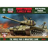 Flames of War Model Kit - M26 Pershing Platoon Tank - 1:100 Scale - UBX43 - New
