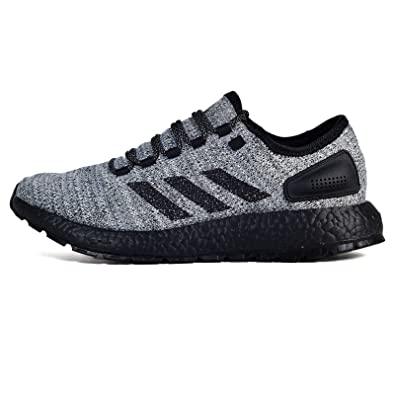 wholesale dealer c0547 22f18 adidas Men s Pureboost ATR Running Shoe White Black Grey 7.5 ...