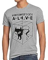 style3 Sheldon Schroedingers Katze Herren T-Shirt