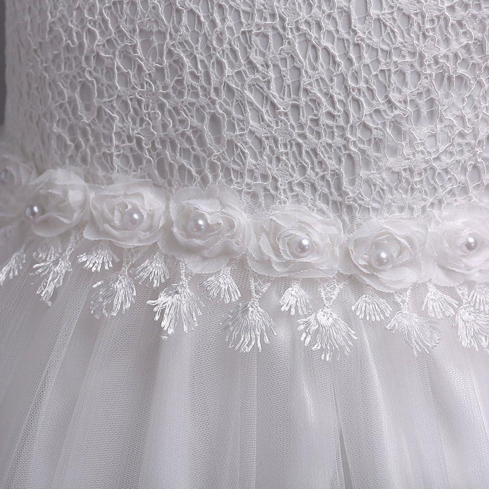LZH Girls Dresses Princess Pageant Wedding Bridesmaid Birthday Ball Gown Dress