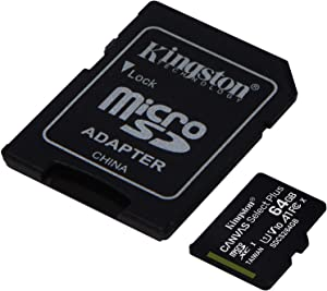 Kingston 64GB Lenovo IdeaTab S6000 MicroSDXC Canvas Select Plus Card Verified by SanFlash. (100MBs Works with Kingston)