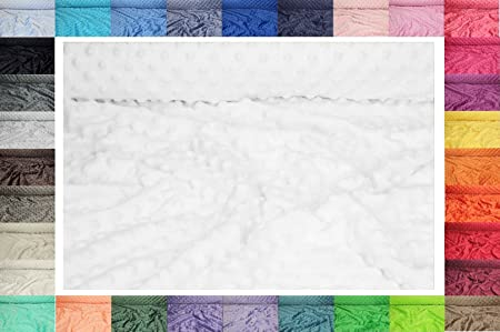 Minkee Stoff Gedruckt 50 x 155 cm