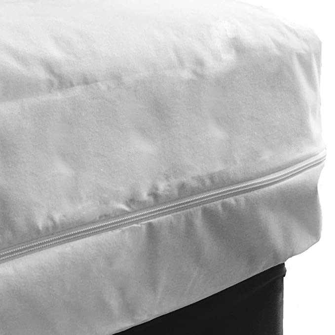 FULLCOVER Cubierta de colchón impermeable relampagada Cama 150 x 200 x 25cm: Amazon.es: Salud y cuidado personal